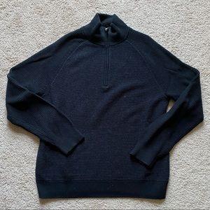 Banana Republic 1/4 zip sweater new large